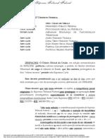 Despacho do ministro Celso de Mello sobre eventual mudança de foro de processo contra Abraham Weintraub