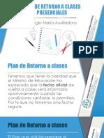 PLAN DE RETORNO A CLASES
