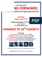 Moving Forward Flyer