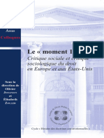 Karsenti Droit et sociologie