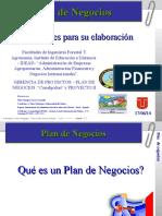 Presentación 1 Plan de Negocios- Facultad de Agronomía -2.014 A