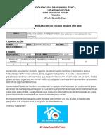 GUIA No 2 SOCIALES 5° CUARENTENA  2020