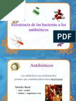 Resistencia de las baterias a los antibioticos