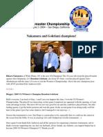 2005 US Chess Championship