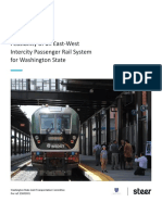 Feasibility of an East-West Intercity Passenger Rail System for Washington State Draft Report