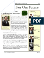 Fall '09 Newsletter