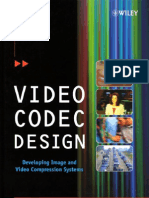 Video COdec Design Developing Image and Video Compression Systems - Iain Richardson