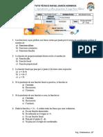 EVAL2_2PERIODO_MATEM_10º Funciones