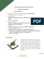 GUIA DE APRENDIZAJE - Tabulacion - Establecer las no conformidades
