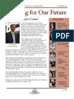 Summer '10 Newsletter