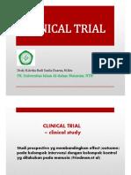 6. Studi Intervensi (Clinical Trial)