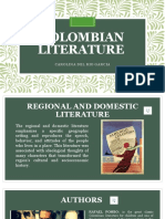 Colombian Literature
