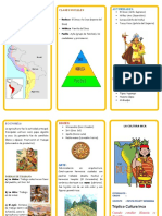 Triptico de  la Cultura Inca