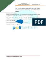 Modul Praktikum P14 rintangan dalam lengkungan ke 2