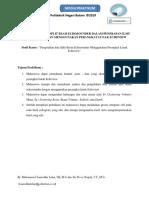 Modul Prak M-4 Pemrosesan data menggunakan Echoview