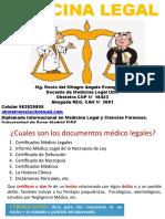 4ta clase documentos medico legales