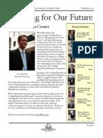 Spring '10 Newsletter