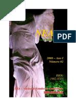 Revista de História Antiga Nearco Nº2 Publicada pelo Núcleo de Estudos da Antiguidade