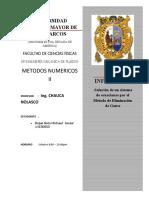 METODO DE GAUSS