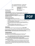 UT Dallas Syllabus for psy3393.502.11s taught by Dana Roark (danar)