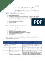 Análisis del Anexo 16 de la Resolución Miscelánea Fiscal.