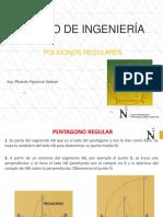 TRAZADO DE POLIGONOS REGULARES