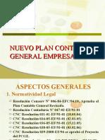 Aplicacion Del Nuevo Plan Contable General