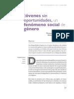 Jóvenes sin oportunidades. Un fenomeno social de género - Roberto Velez, Monica Orozco