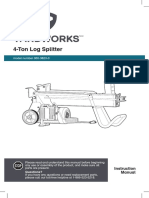 F360543 yard works splitter