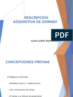4. Prescripción Adquisitiva - Conceptos