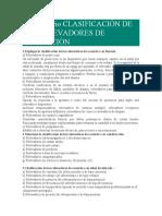 Cuestionario CLASIFICACIÓN DE LOS RELEVADORES DE PROTECCIÓN