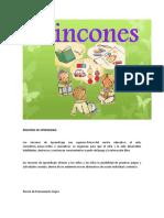 RINCONES DE APRENDIZAJE