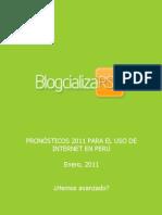 BlogcializaRSE cos Para El Uso de Internet en 2011