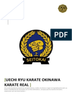 KARATE-REAL-UECHI-RYU