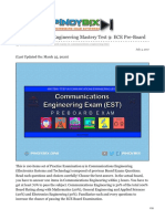 pinoybix.org-Communications Engineering Mastery Test 9 ECE Pre-Board