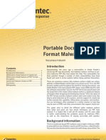 Portable Document Format Malware
