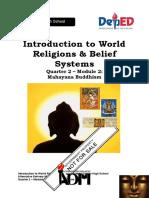 SILM ABASTAR LESSON 10  WORLD RELIGION MAHAYANA BUDDHISM.doc