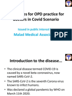 Guidelines for OPD practice for doctors in Scenario