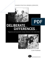 Deliberate Differences