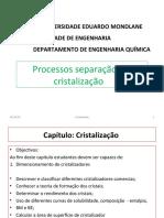 Cristalizacao