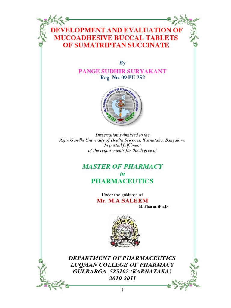 Thesis on mucoadhesive buccal tablet coca cola scholarship 2012 essay