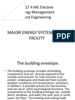 major energy system in a facility