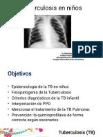 Clase 15. Tuberculosis en niños (1)(2)