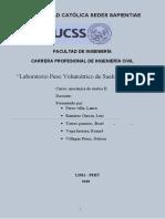 Informe-Laboratorio-03 PESO VOLUMETRICO