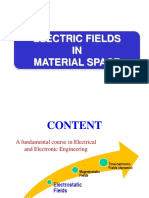 Electrostatic in Material Space