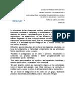 LA ORGANIZACIÓN DE FIESTAS DE ACTIVIDAD MOTRIZ EN LA ESCUELA CON DEPORTES INDIVIDUALES Y COLECTIVOS