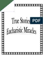 Eucharistic Miracles  _True Stories