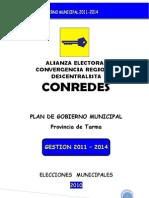 Plan de Gobierno - Alcalde Luis Morales