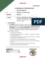 MODELO DE PEDIDO DE INFORMACIÓN