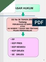 Transparan UU No.36 tahun 2008